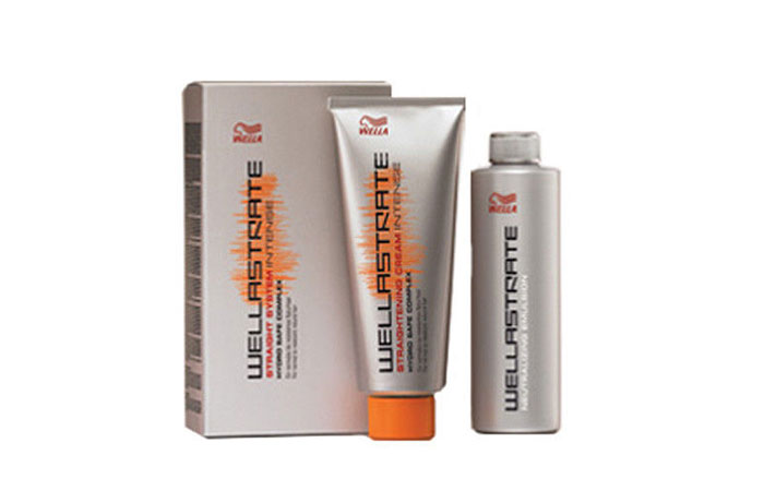 2. Wellastrate Intense Straightening Cream