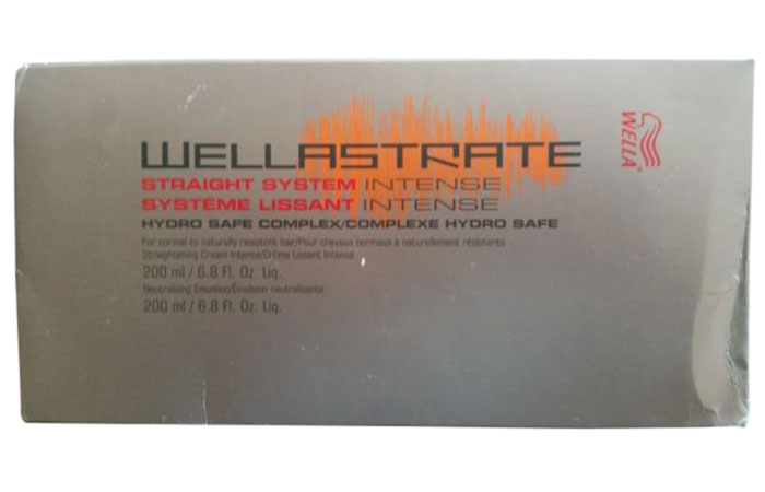 20. Wellastrate Intense Straightening Cream