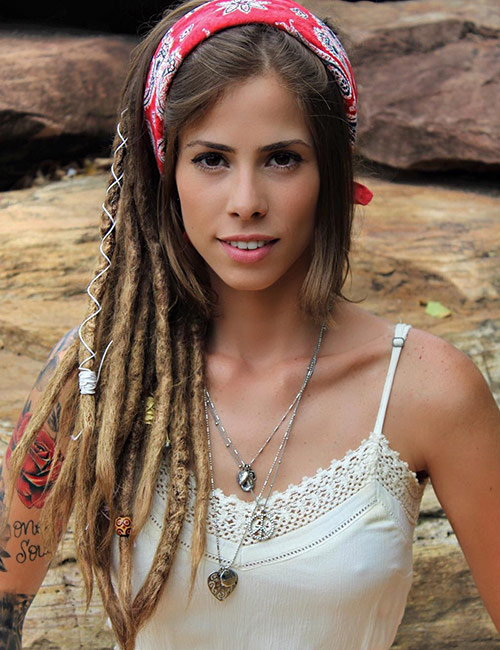 23. Headband Dreadlocks