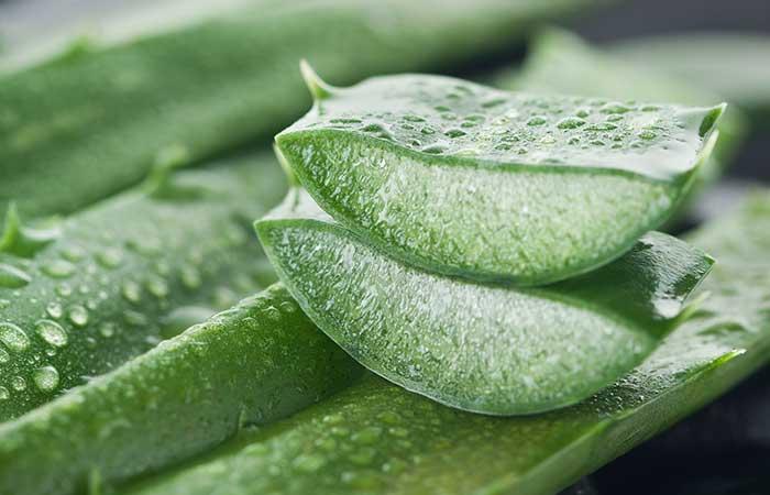 3. Aloe Vera And Onion Juice