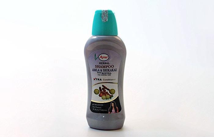 Best Shikakai Shampoos - Ayur Herbal Amla & Shikakai With Reetha Shampoo