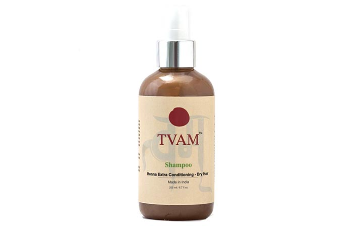 3. TVAM Shampoo Henna Extra Conditioning - Dry Hair