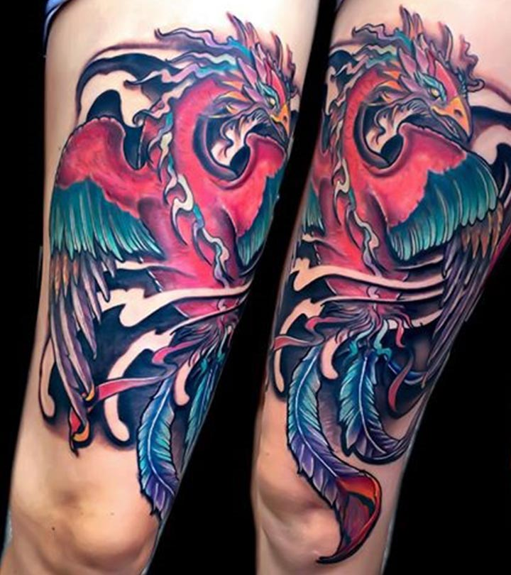 30 Gorgeous Phoenix Tattoo Designs