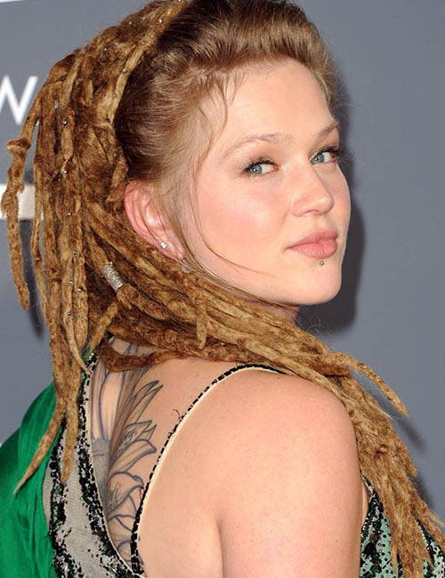 4. Dreadlock Ponytail