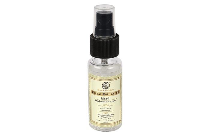 4. Khadi Herbal Hair Serum
