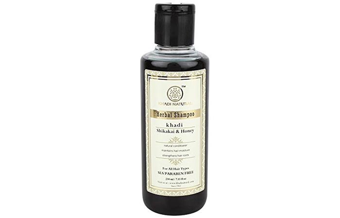 4. Khadi Shikakai And Honey Shampoo