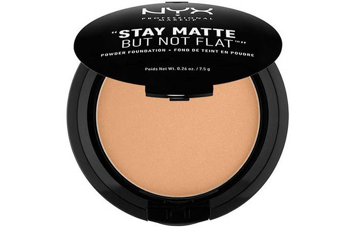 Best Powder Foundations - NYX Professional Makeup Stay Matte But Not Flat Powder Foundation