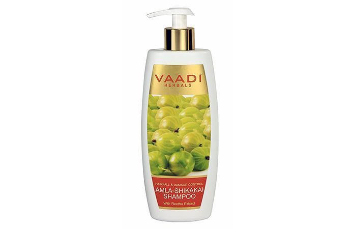 4. Vaadi Herbals Amla-Shikakai Shampoo