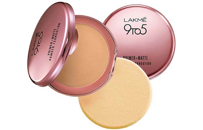 Best Powder Foundations - Lakme 9 To 5 Primer + Matte Powder Foundation