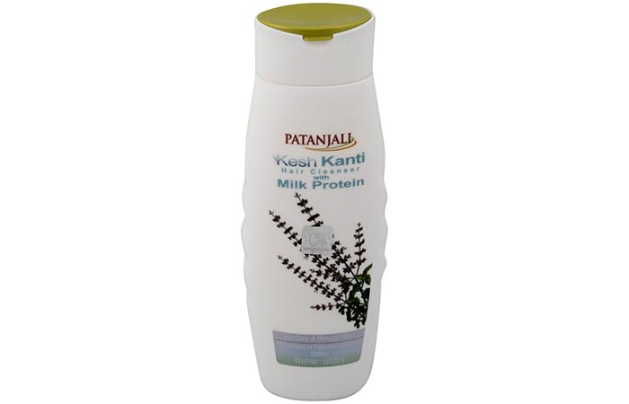 5. Patanjali Kesh Kanti Hair Cleanser With Milk Protein