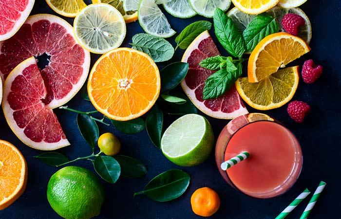 Get Rid Of Pimples Behind Ears - Citrus Juice