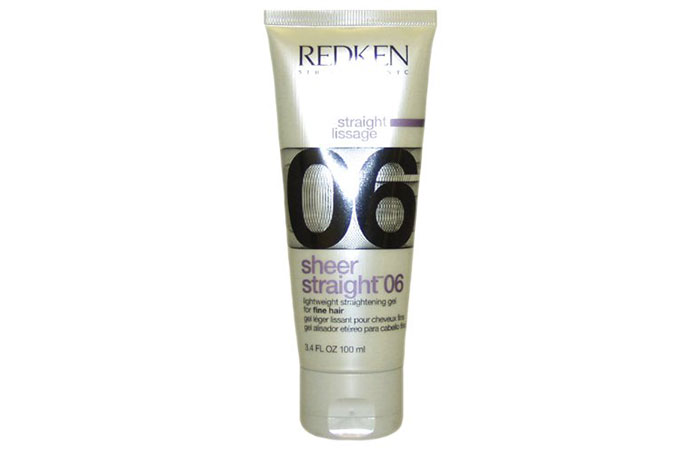 6. Redken Sheer Straight 06