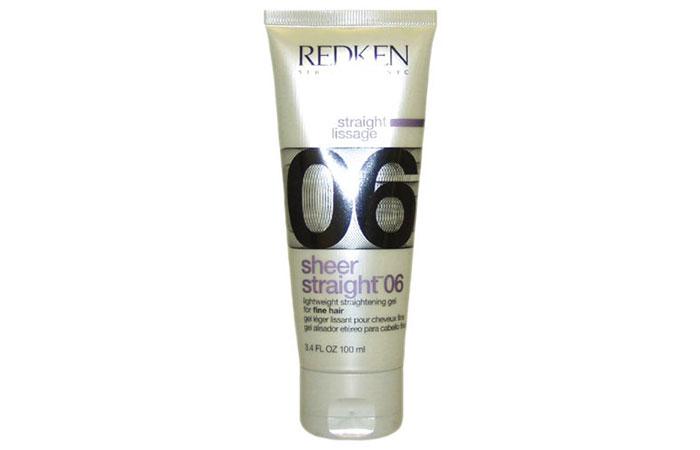 6. Redken Sheer Straight 06