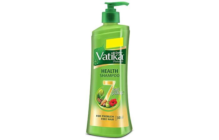 7. Dabur Vatika Naturals Health Shampoo