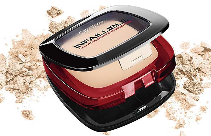 Best Powder Foundations - L'Oreal Paris Infallible 24H Powder Foundation