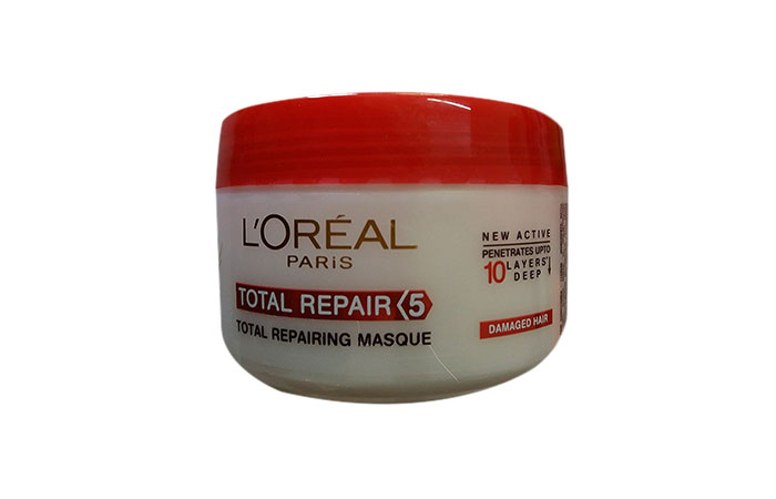 8. L'Oreal Total Repair 5 Hair Mask