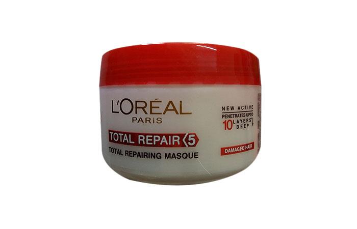 8. L'Oreal Total Repair 5 Hair Mask