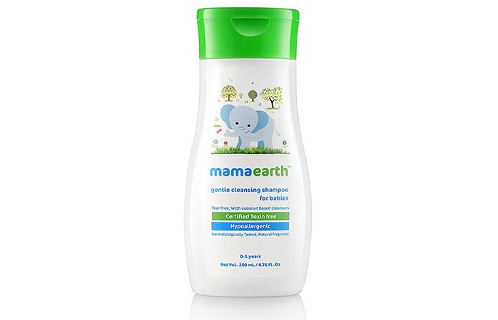 8. Mamaearth Gentle Cleansing Shampoo