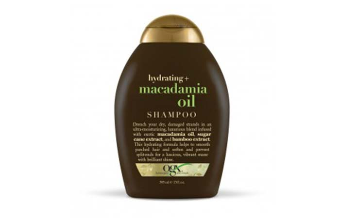 8. Organix Hydrating+ Macadamia Oil Shampoo