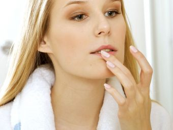 9 Simple Ways To Get Rid Of Pimples On Your Lips