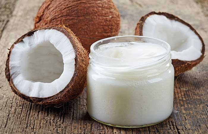 9. Coconut Oil And Onion Juice