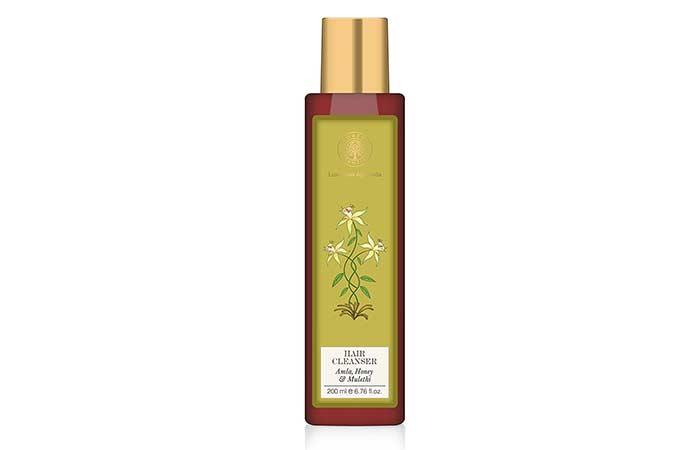 9. Forest Essentials Amla, Honey & Mulethi Hair Cleanser
