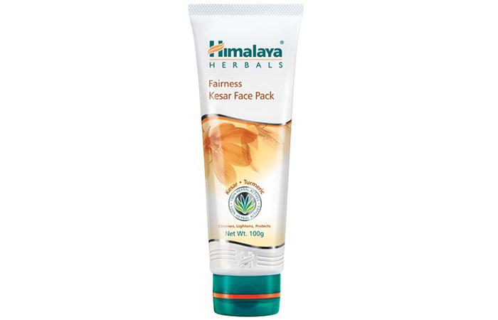 9. Himalaya Herbals Fairness Kesar Face Pack