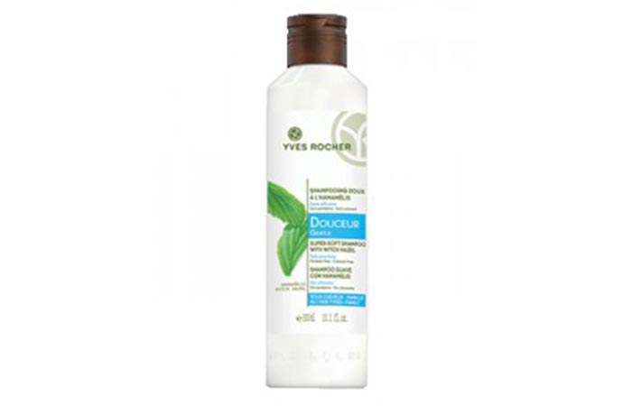 9. Yves Rocher Gentle Super Soft Shampoo
