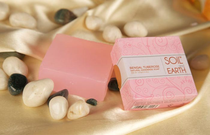 9.Soil And Earth Bengal Tuberose Soap
