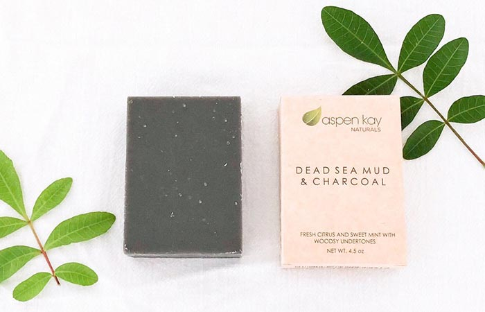 Aspen Kay Naturals Dead Sea Mud And Charcoal Soap