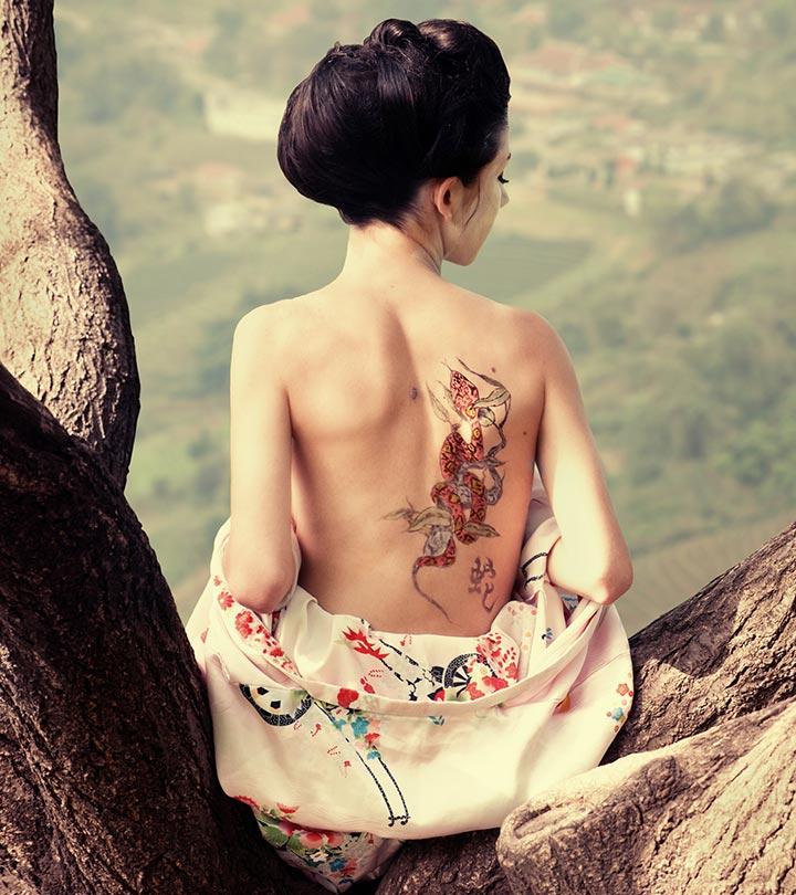 Asian Female Tattoo