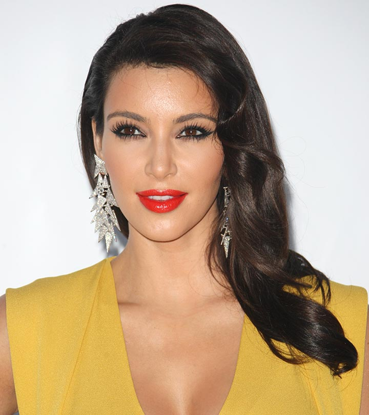 29+ Kim Kardashian Bun Hairstyles Background