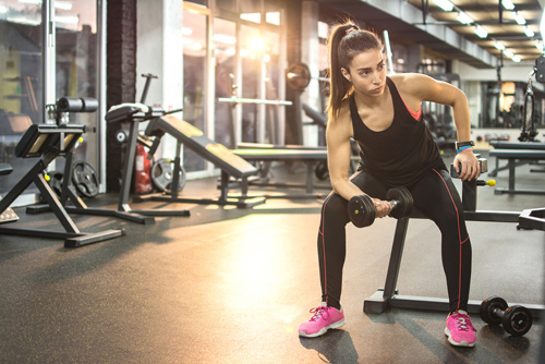 Exercises For Tennis Elbows - Bicep Curls