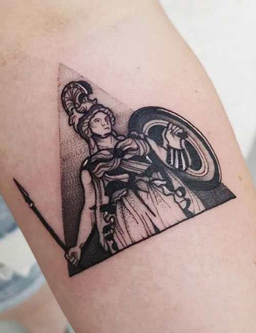 Greek Mythology - Black And Gray Tattoos