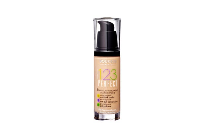 Best Foundations For Combination Skin - 2. Bourjois 123 Perfect Foundation