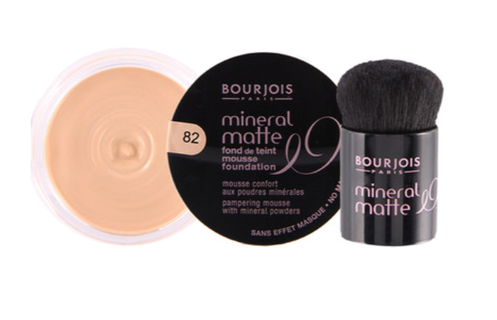 Bourjois Mineral Matte Foundation - A Good Waterproof Product