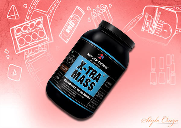 Weight Gain Products In India - British Nutrition Xtra Mass – Banana