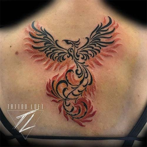 30 Gorgeous Phoenix Tattoo Designs