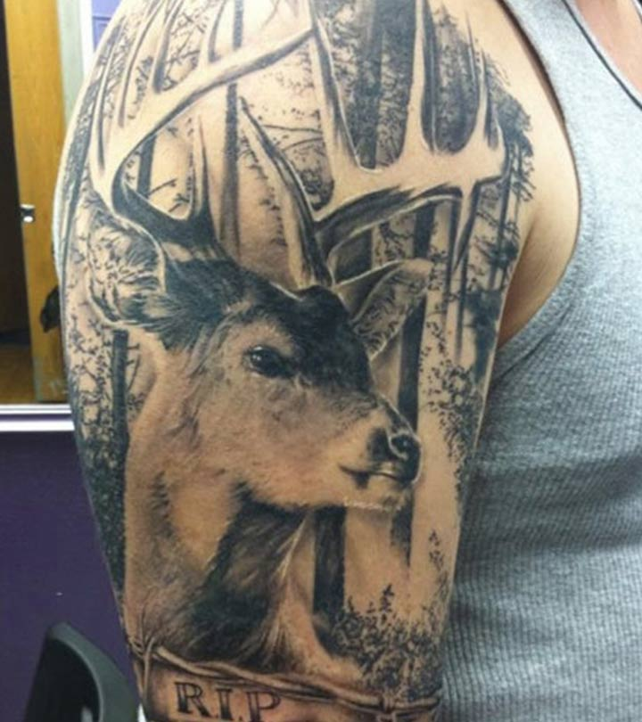 a40bf141df296 Best Deer Tattoo Designs – Our Top 10
