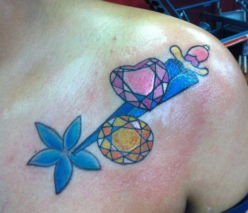 Diamond Dagger Tattoo