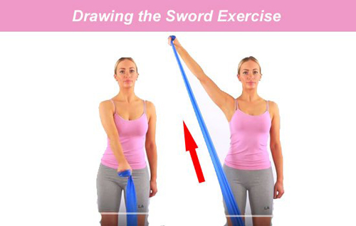 Tennis Elbow Exercises - Drawing The Sword