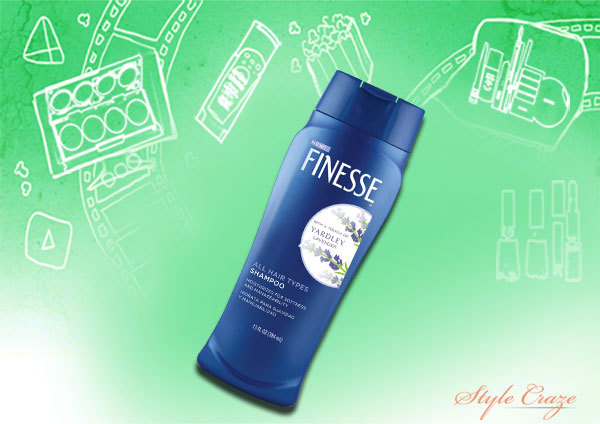 FINESSE Shampoo with a Touch of Yardley Lavender