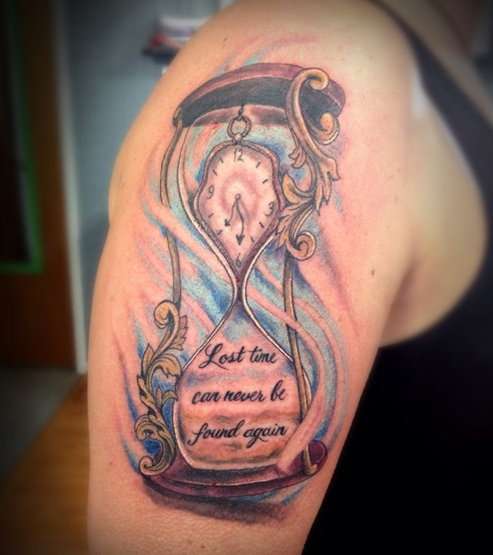 Fabulous-Hourglass-Tattoo-Designs