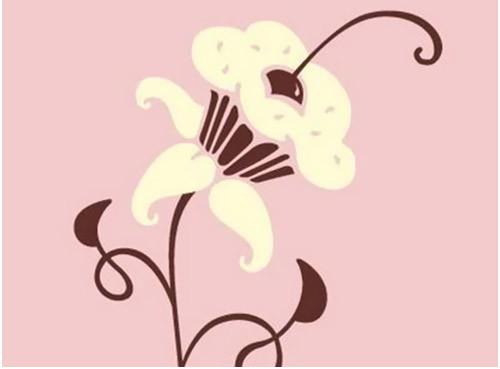 floral cupcake tattoo