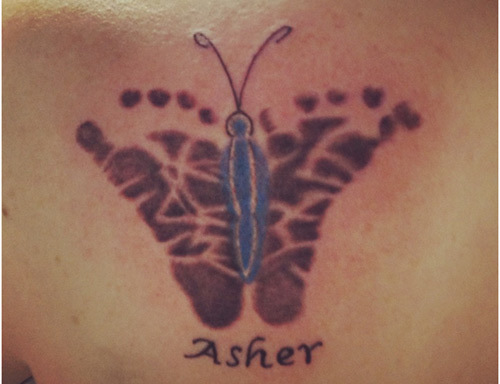 055f2557f25a5 Top 10 Footprint Tattoo Designs