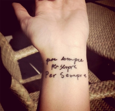 for always tattoo