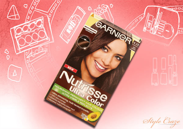 garnier nutrisse ultra colour iced coffee 4.15