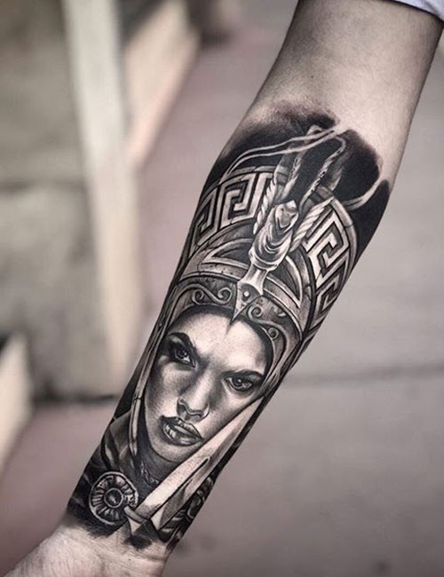 Greek Mythology Tattoos On The Forearm