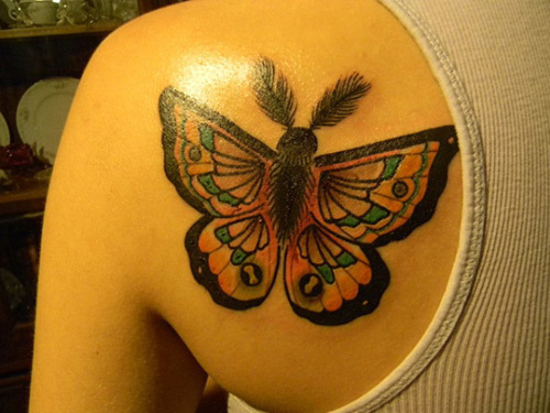 gypsy butterfly tattoo