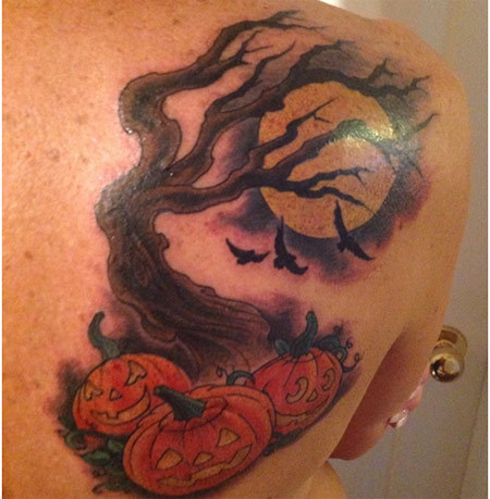 Halloween Night Tattoo